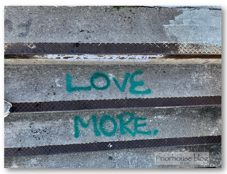 june6-stairs teal lovce more words close up