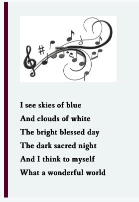 lens wonderful world lyrics 2